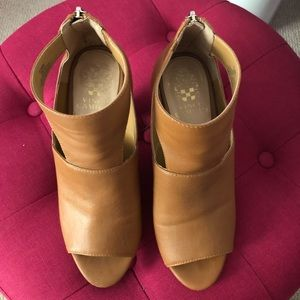 Vince Camuto cut out booties